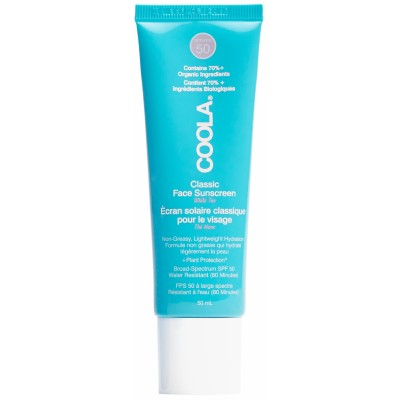 Coola Classic Face Sunscreen White Tea SPF50 50 ml