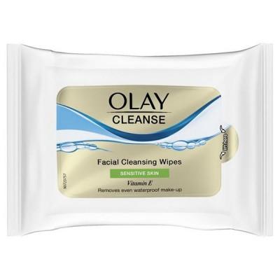 Olay Cleansing Wipes Sensitive Skin 20 stk