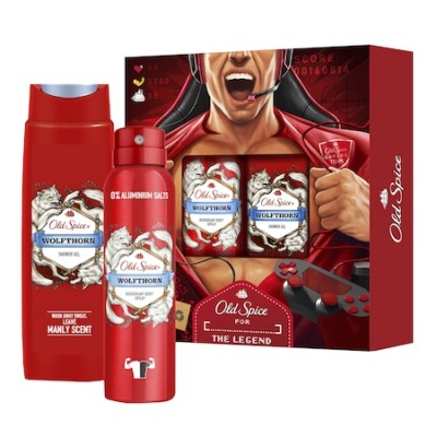 Old Spice Wolfthorn Set Deodorant Spray & Shower Gel 150 ml + 250 ml