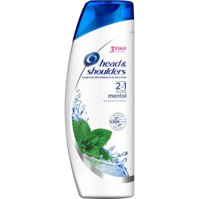 Head & Shoulders 2in1 Menthol Shampoo 300 ml