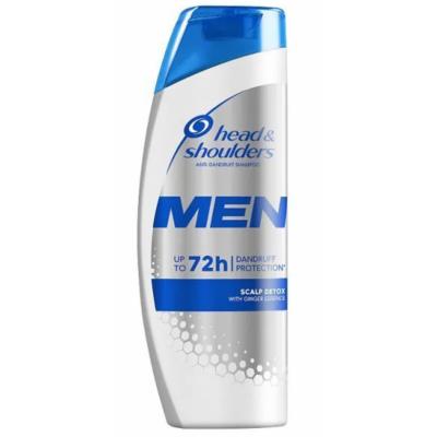 Head & Shoulders Men Scalp Detox Shampoo 400 ml