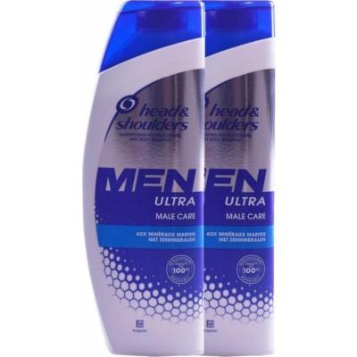 Head & Shoulders Men Ultra Male Care 2 x 280 ml