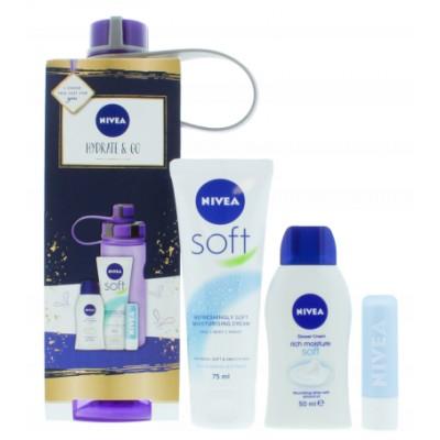 Nivea Hydrate & Go Gift Set 4 st