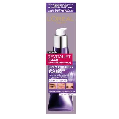 L'Oreal Revitalift Filler Eye Cream 30 ml