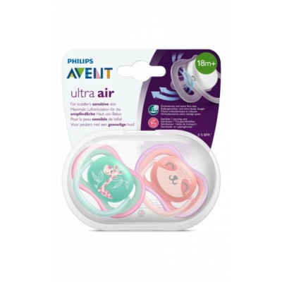 Philips Avent Ultra Air Pink 18M+ 2 st