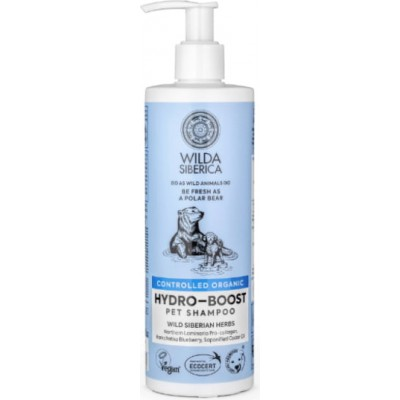 Natura Siberica Wilda Hydro Boost Shampoo For Pets  400 ml