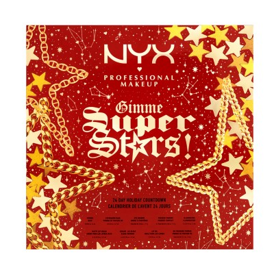 NYX Gimme Super Stars! 24 Day Holiday Countdown Advent Calendar 24 stk