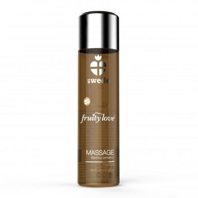 Swede Fruity Love Massage Oil Intense Dark Chocolate 60 ml
