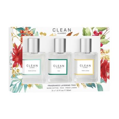 Clean Fragrance Layering Trio Set 3 x 30 ml