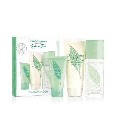 Elizabeth Arden Green Tea EDT & Hand Cream & Body Cream 50 ml + 30 ml + 100 ml