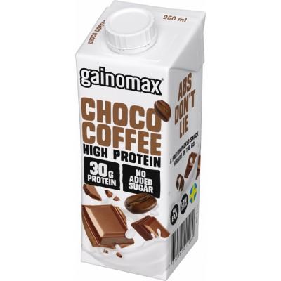 Gainomax High Protein Drink Choco Coffee 250 ml