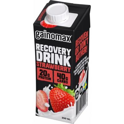 Gainomax Recovery Drink Strawberry 250 ml