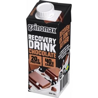 Gainomax Recovery Drink Chocolate 250 ml