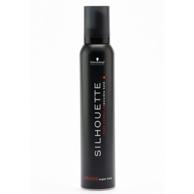 Image of   Schwarzkopf Silhouette Super Hold Mousse 200 ml