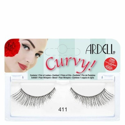 Ardell Curvy Lashes Black 411 1 pair