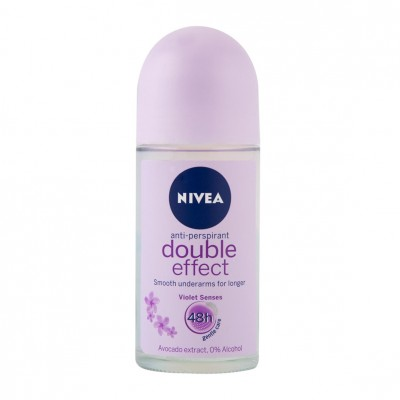 Nivea Double Effect Roll On Deo 50 ml