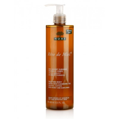 Nuxe Reve de Miel Face & Body Cleansing Gel 400 ml