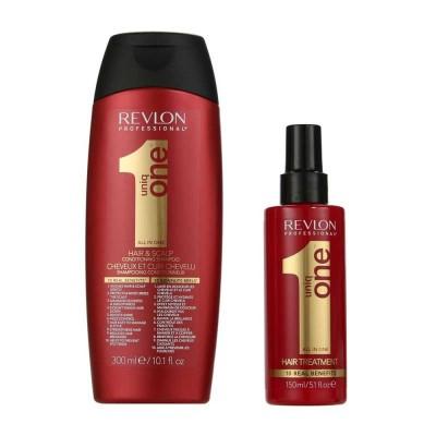 Uniq One Shampoo + Treatment 300 ml + 150 ml