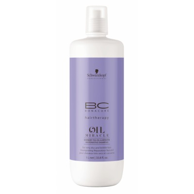 Image of   Schwarzkopf Bonacure Oil Miracle Barbary Fig & Keratin Restorative Shampoo 1000 ml