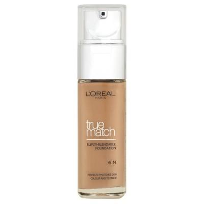 L'Oreal True Match Foundation N6 Honey 30 ml