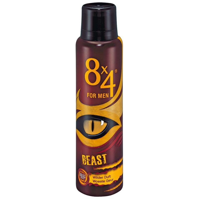 8x4 Beast For Men Deospray 150 ml - 15.95 kr