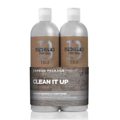 Tigi Bed Head For Men Clean Up Tween Duo 2 x 750 ml