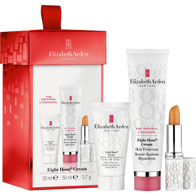 Image of   Elizabeth Arden Eight Hour Skin Protectant Cream Gift Set 30 ml + 50 ml + 3,7 g