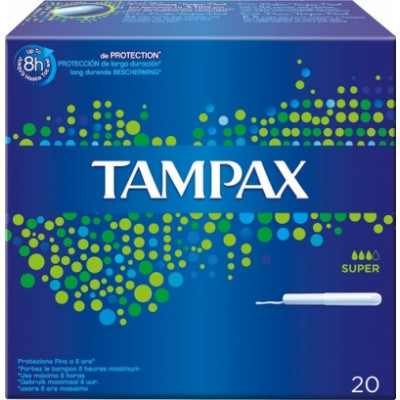 Tampax Blue Super 20 kpl