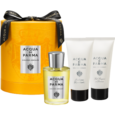 Image of   Acqua Di Parma Colonia Assoluta EDC + Aftershave Balm + Showergel 100 ml + 75 ml + 75 ml