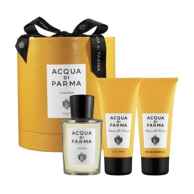 Image of   Acqua Di Parma Colonia EDC + Body Cream + Showergel 100 ml + 75 ml + 75 ml