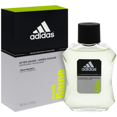Stockists of Adidas Pure Game Aftershave 100 ml