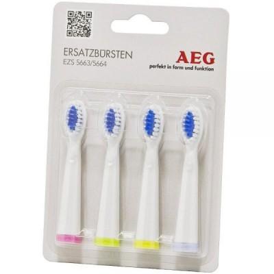 Image of   AEG 5663 & 5664 Elektrisk Tandbørste Børstehoveder 4 stk