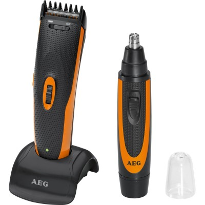 aeg hsm r 5597 ne hair beard nose hair trimmer set 2 stk 129 kr. Black Bedroom Furniture Sets. Home Design Ideas