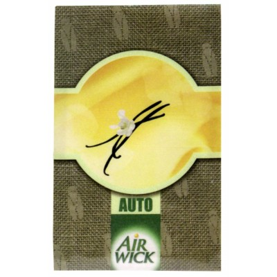 Image of   Air Wick Car Freshener Envelope Vanilla 1 stk