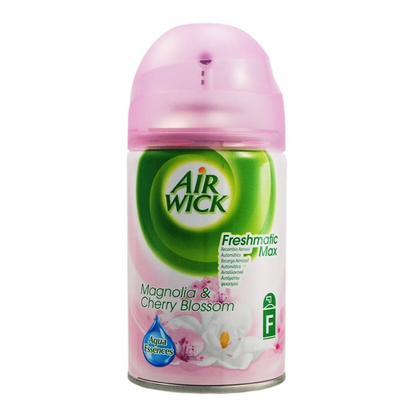 air wick freshmatic max magnolia cherry blossom 250 ml. Black Bedroom Furniture Sets. Home Design Ideas