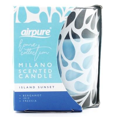 Airpure Milano Duftkerze Island Sunset 1 stk