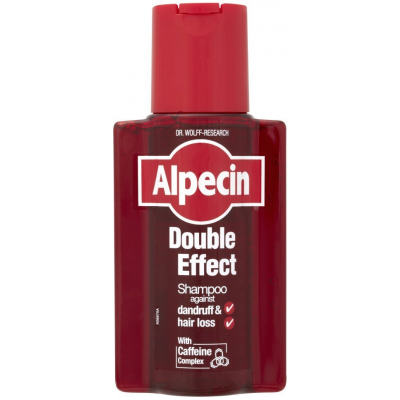 Alpecin Double Effect Caffeine Shampoo Against Dandruff & Hair Loss 200 ml