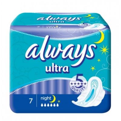 Always Ultra Night 7 stk