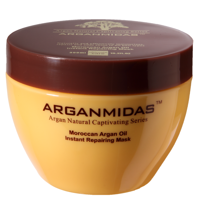 Moroccan argan oil mask