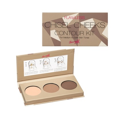 Image of   Barry M. Chisel Cheeks Contour Kit 02 Medium Dark 7,5 g