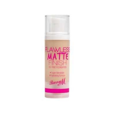 Image of   Barry M. Flawless Matte Finish Foundation 01 Ivory 30 ml