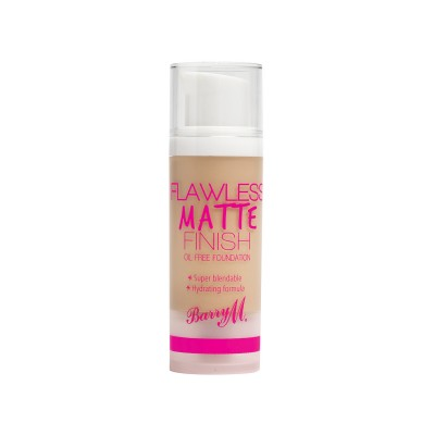 Image of   Barry M. Flawless Matte Finish Foundation 02 Nude 30 ml