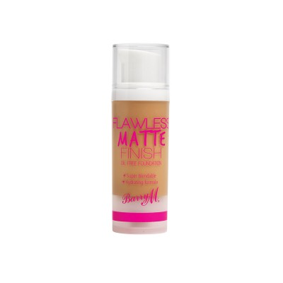 Image of   Barry M. Flawless Matte Finish Foundation 05 Tan 30 ml