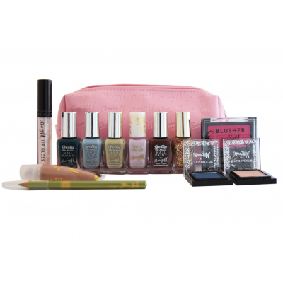 Image of   Barry M. Makeup Kit & Bag 12 st