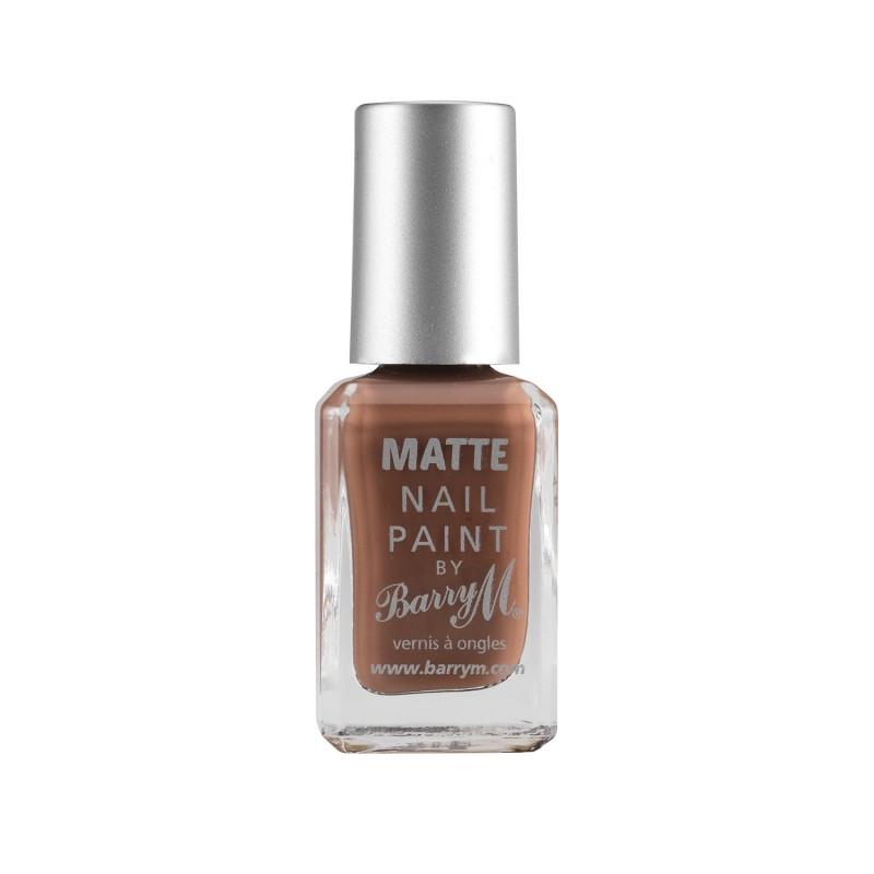 Barry M. Nail Paint Matte 05 Mocha 10 Ml
