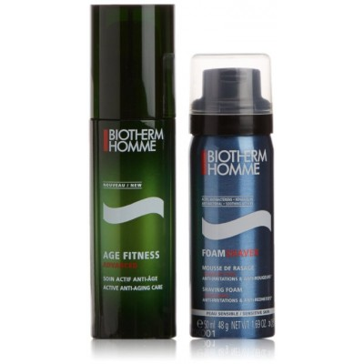 Image of   Biotherm Age Fitness Advanced + Shaving Foam 50 ml + 50 ml