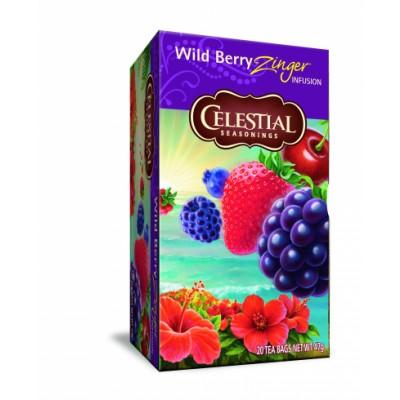 Celestial Wild Berry Zinger 20 sachets