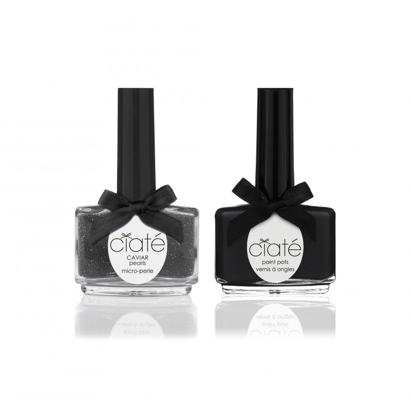 Ciate Caviar Pearls: Ciaté Caviar Manicure Set Black Pearls 60 G + 13,5 Ml