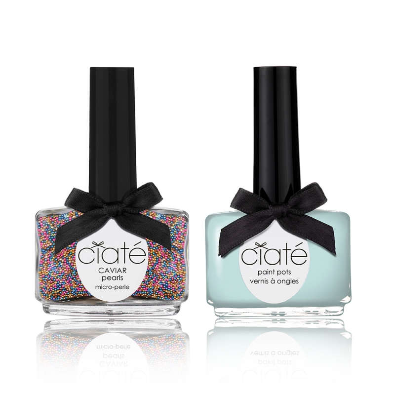 Ciate Caviar Nails: Ciaté Caviar Manicure Set Cotton Candy 60 G + 13,5 Ml