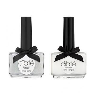 Image of   Ciaté Caviar Manicure Set Mother Of Pearl 60 g + 13,5 ml